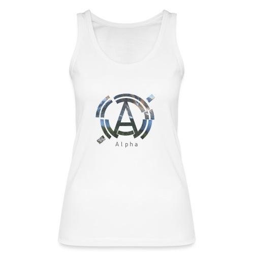 AlphaOfficial Logo T-Shirt - Women's Organic Tank Top by Stanley & Stella