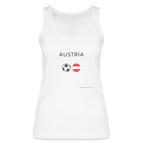 Austria Fußball - Frauen Bio Tank Top von Stanley & Stella