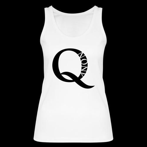 Q Anon Q-Anon Original Logo - Frauen Bio Tank Top von Stanley & Stella