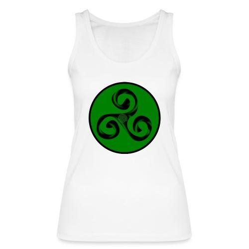 Triskel and Spiral - Camiseta de tirantes ecológica mujer de Stanley & Stella