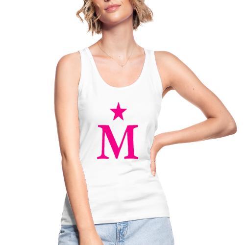 M de Moderdonia rosa - Camiseta de tirantes ecológica mujer de Stanley & Stella