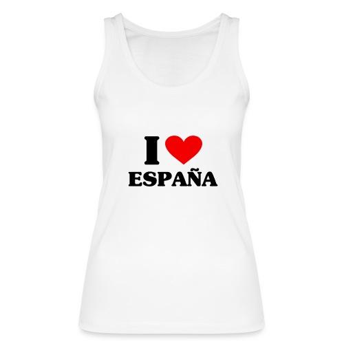 I love Espana - Frauen Bio Tank Top von Stanley & Stella