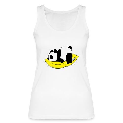 Panda Sleeping / Panda durmiendo - Camiseta de tirantes ecológica mujer de Stanley & Stella