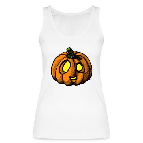 Pumpkin Halloween scribblesirii - Stanley & Stellan naisten luomutanktoppi