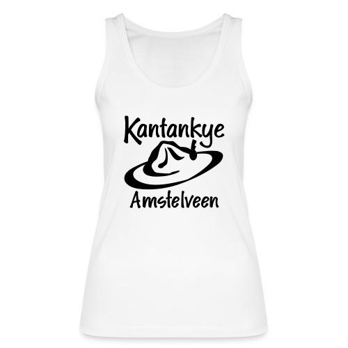 logo naam hoed amstelveen - Vrouwen bio tanktop van Stanley & Stella