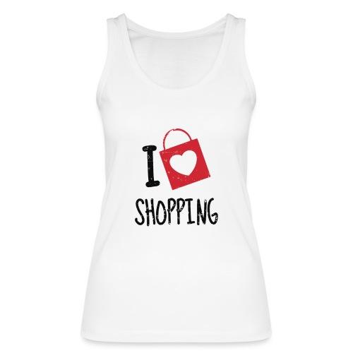 I Love Shopping - Camiseta de tirantes ecológica mujer de Stanley & Stella