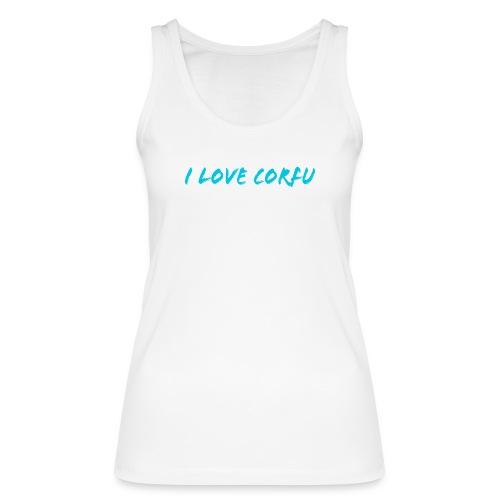 I Love Corfu Griechenland - Frauen Bio Tank Top von Stanley & Stella