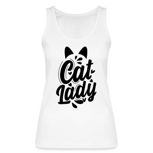 CAT LADY - Débardeur bio Femme