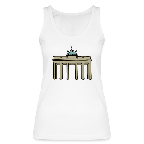 Berlin Brandenburger Tor - Frauen Bio Tank Top von Stanley & Stella