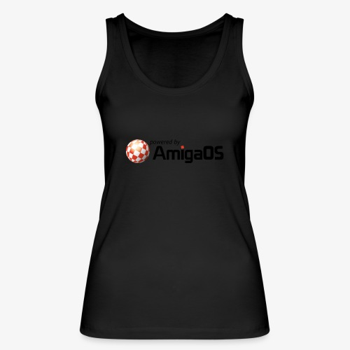 PoweredByAmigaOS Black - Women's Organic Tank Top by Stanley & Stella