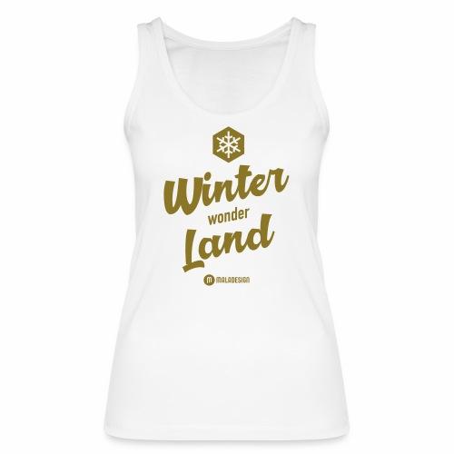 Winter Wonder Land - Stanley & Stellan naisten luomutanktoppi