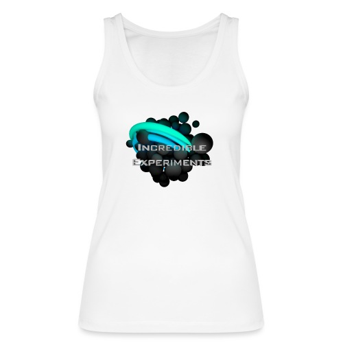 Incredible Experiments Logo grau 4000x4000.png - Frauen Bio Tank Top von Stanley & Stella