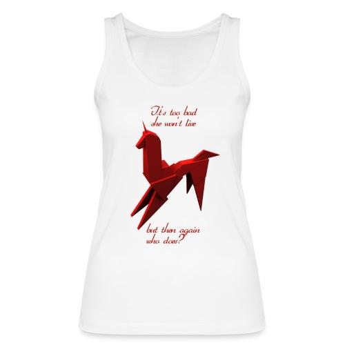 UnicornioBR2 - Camiseta de tirantes ecológica mujer de Stanley & Stella