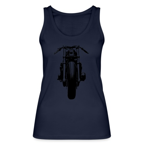 Motorcycle Front - Women's Organic Tank Top by Stanley & Stella