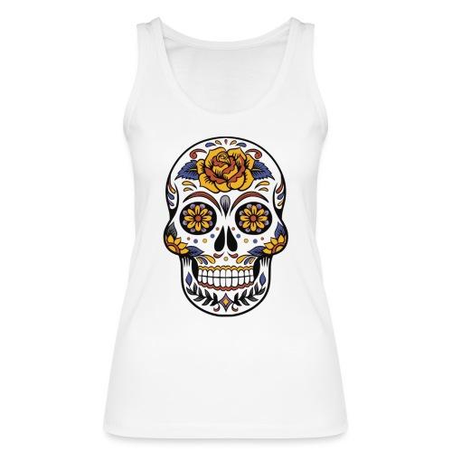 skull mexiko mexico - Frauen Bio Tank Top von Stanley & Stella