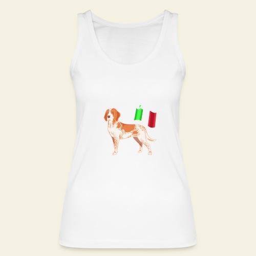 Bracco Italiano Flag - Stanley & Stellan naisten luomutanktoppi