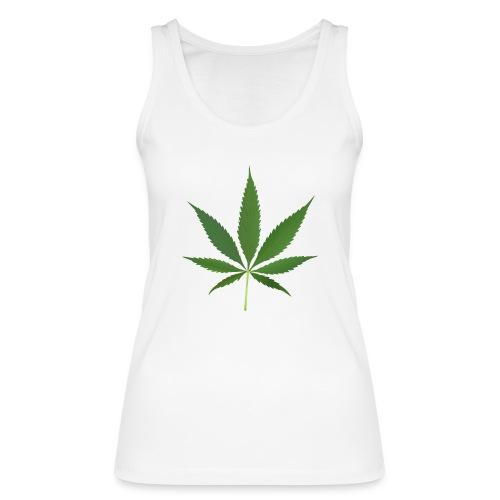 2000px-Cannabis_leaf_2 - Økologisk Stanley & Stella tanktop til damer
