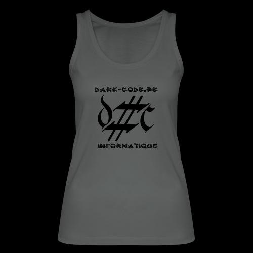Dark-Code Black Gothic Logo - Débardeur bio Femme