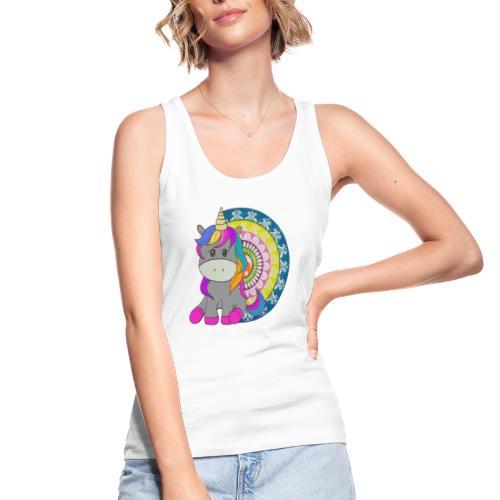 Unicorno Mandala - Top ecologico da donna di Stanley & Stella