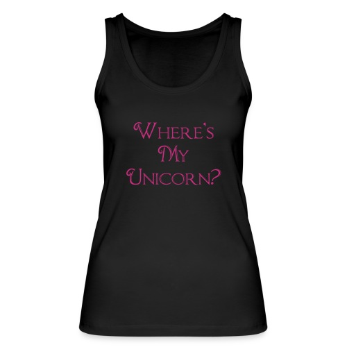 Where's My Unicorn - Women's Organic Tank Top by Stanley & Stella