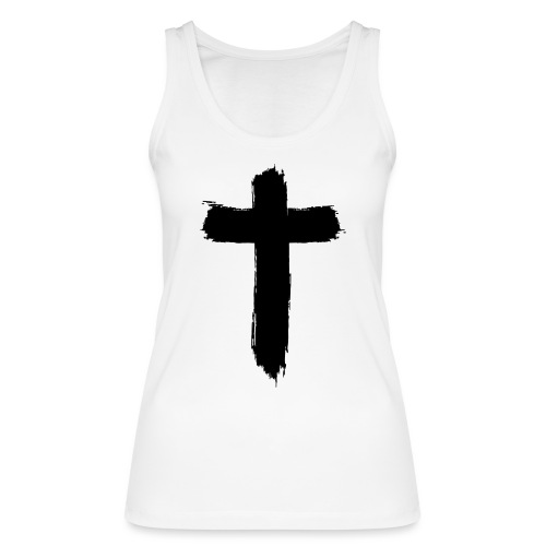 Brushed-Cross - Frauen Bio Tank Top von Stanley & Stella