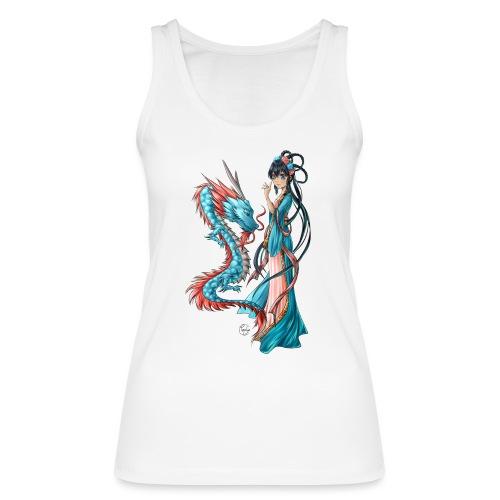 Blue Dragon - Débardeur bio Femme