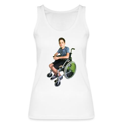 Michael Brown Rollstuhl (Version ein) - Frauen Bio Tank Top von Stanley & Stella