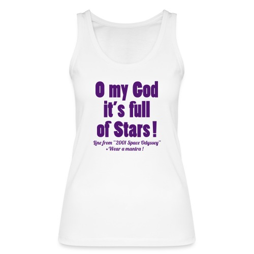FULL OF STARS - Top ecologico da donna di Stanley & Stella