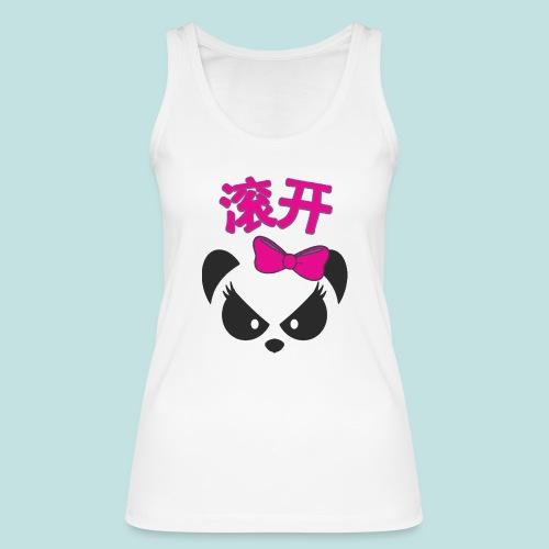 Sweary Panda - Women's Organic Tank Top by Stanley & Stella