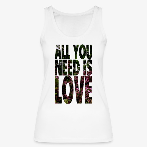 All You need is love - Ekologiczny top damski Stanley & Stella