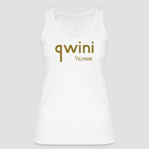 Qwini with Pillmann logo - Women's Organic Tank Top by Stanley & Stella