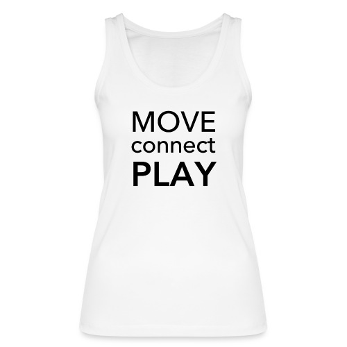 Move Connect Play - AcroYoga International - Women's Organic Tank Top by Stanley & Stella