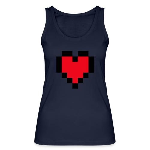 Pixel Heart - Vrouwen bio tanktop van Stanley & Stella