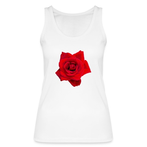 Red Roses - Ekologiczny top damski Stanley & Stella