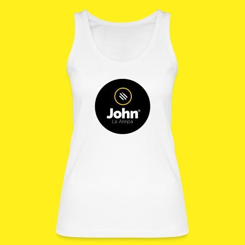 logo john - Camiseta de tirantes ecológica mujer de Stanley & Stella
