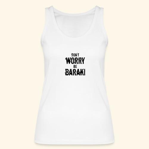 Be Baraki (Noir) - Débardeur bio Femme
