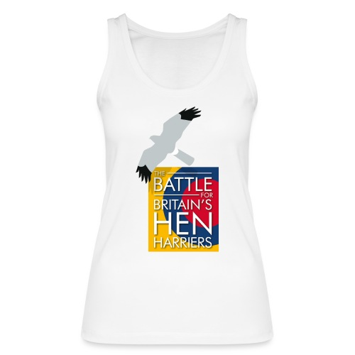 New for 2017 - Women's Hen Harrier Day T-shirt - Women's Organic Tank Top by Stanley & Stella