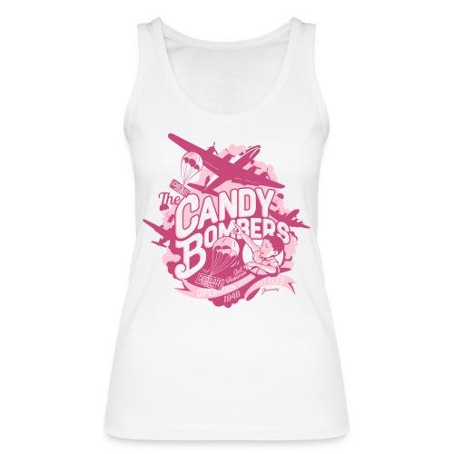 Candy Bombers Tribut rosa - Frauen Bio Tank Top von Stanley & Stella