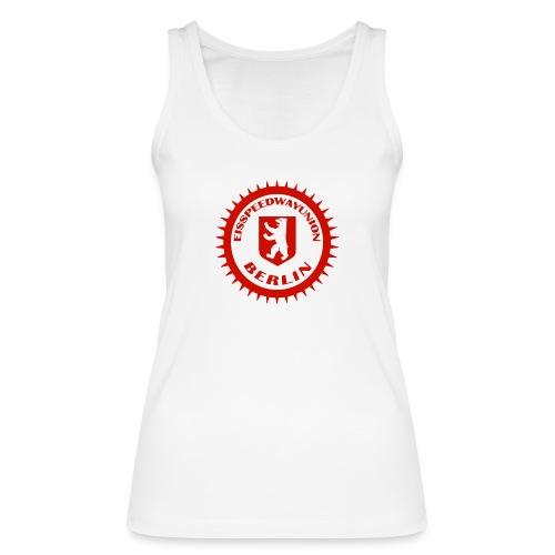 Logo in Rot Weiß - Frauen Bio Tank Top von Stanley & Stella