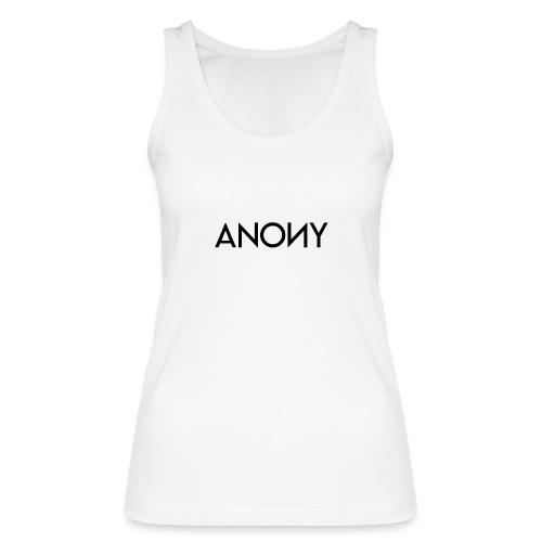 Anony Text - Camiseta de tirantes ecológica mujer de Stanley & Stella