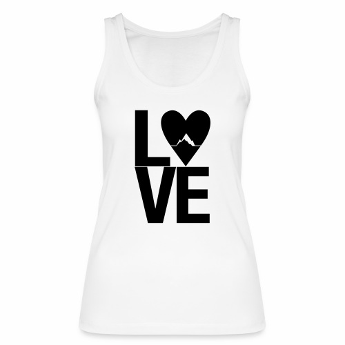 Mountain Love - Frauen Bio Tank Top von Stanley & Stella