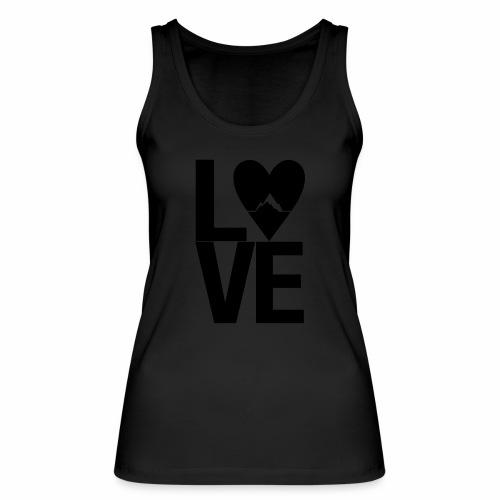 Mountain Love - Frauen Bio Tank Top von Stanley & Stella