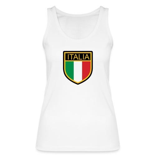 SCUDETTO ITALIA CALCIO - Top ecologico da donna di Stanley & Stella