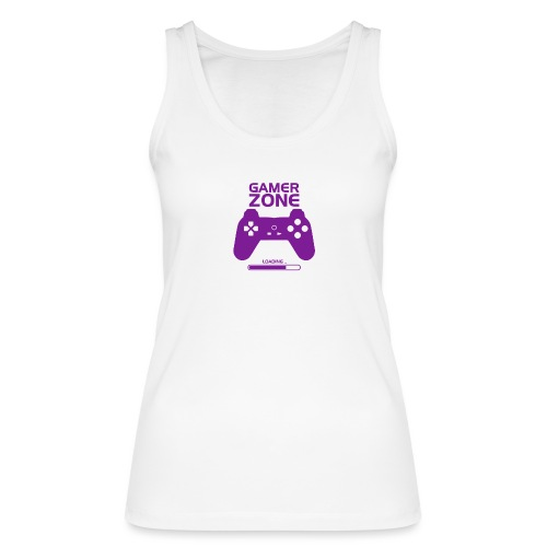 Game zone, game end, player zone, fone gamer - Women's Organic Tank Top by Stanley & Stella