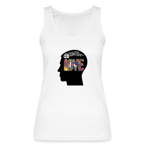 Love in my head - Vrouwen bio tanktop van Stanley & Stella