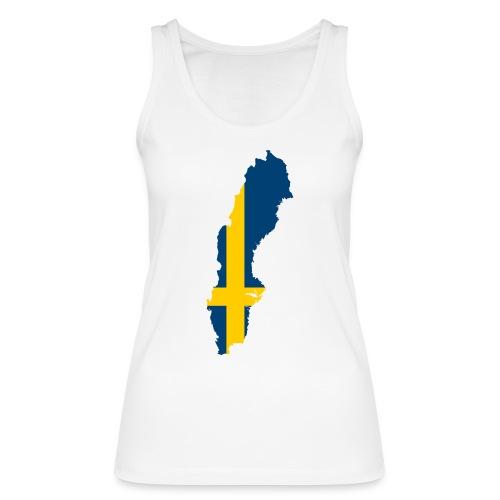 Sweden - Vrouwen bio tanktop van Stanley & Stella