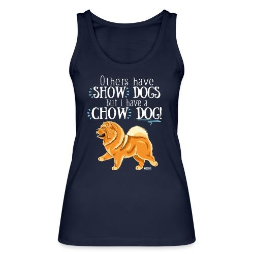 Chow Dog 02 - Stanley & Stellan naisten luomutanktoppi