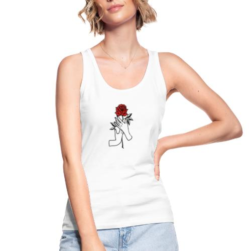 Fiore rosso - Top ecologico da donna di Stanley & Stella