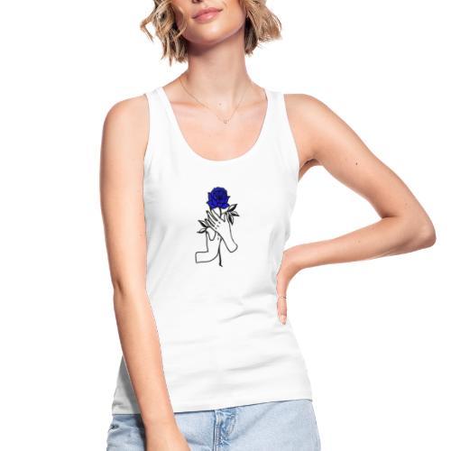 Fiore blu - Top ecologico da donna di Stanley & Stella