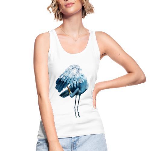 Fenicottero Blu - Top ecologico da donna di Stanley & Stella